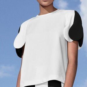 Victoria Beckham Target Pedal Sleeve Shirt Size M